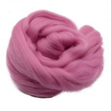 Vilnas ķemmlente spilgti rozā, 50g