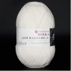 Yarn for macrame - 2 balts, 160m / 100g