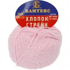 Streč kokvilna g.rozā 055, 50g