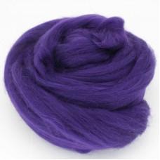 Pussmalka vilna filcēšanai t.violets, 100g