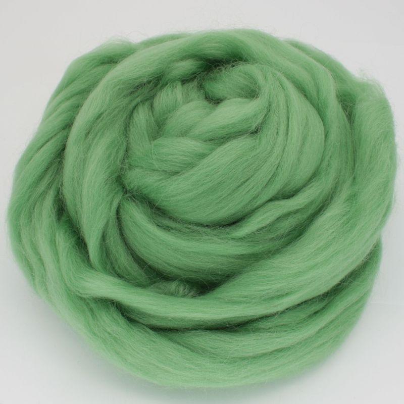 Pussmalka vilna filcēšanai zaļš ābols, 100g