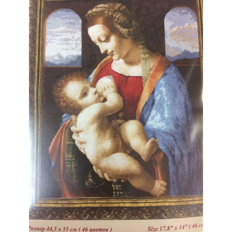 Madonna Lita 44,5x35cm