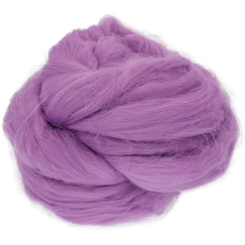 Akrila ķemmlente purpursarkans 247, 100g