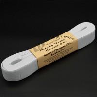 Elastīgās lentes - balts 20mm / 3m