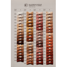 PNK mulinē diegi 550 krās., 10m/20m