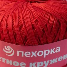 Cvetnoe kruzevo 06 - sarkans, 50g
